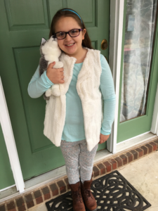 Leah, age 8.