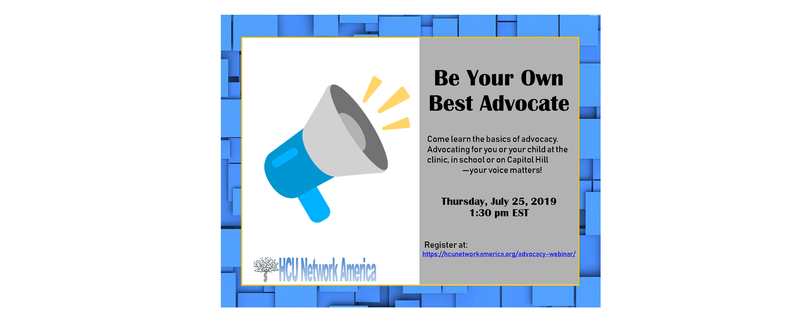 Be Your Own Best Advocate