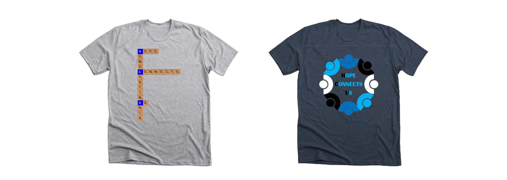 HCU Awareness Shirts now available