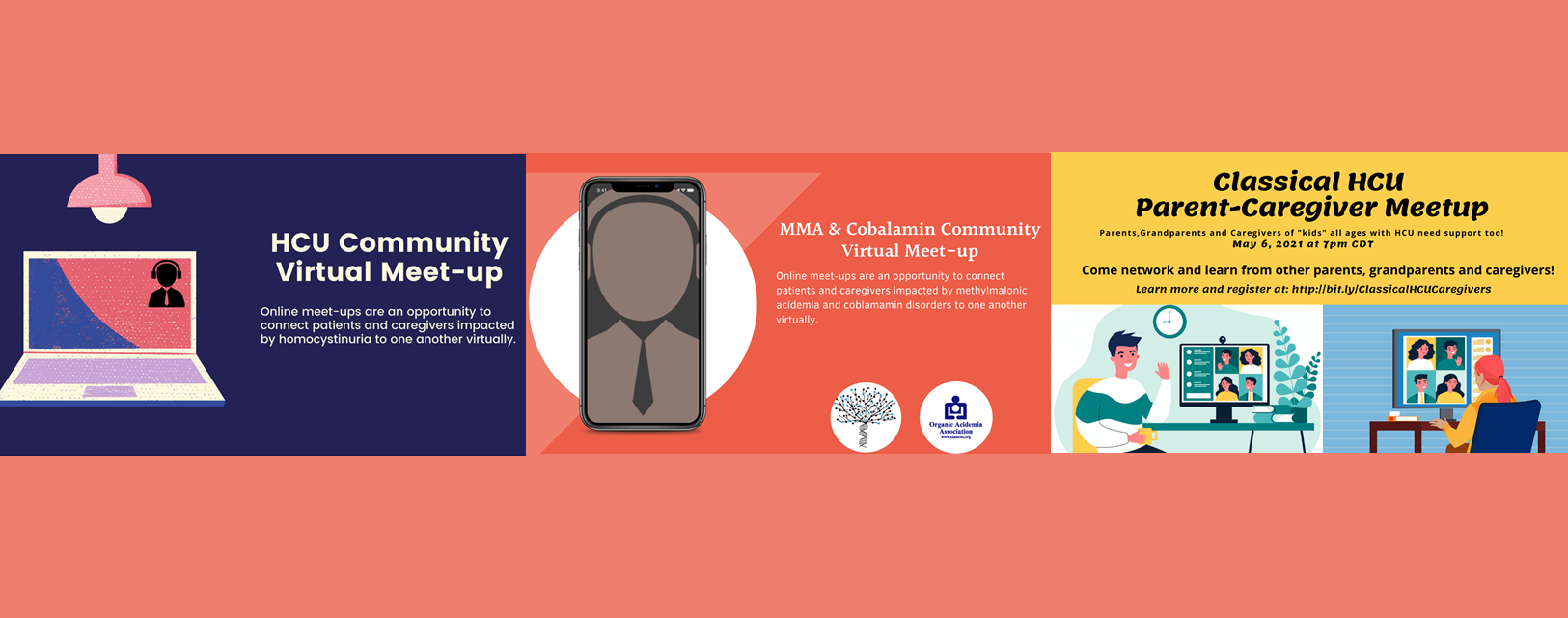 Community Virtual Meet-ups